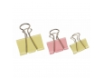 Assorted Colours Fold Back Clips (binder clips)